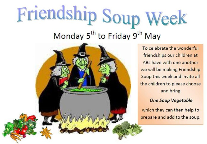 Friendship Soup week